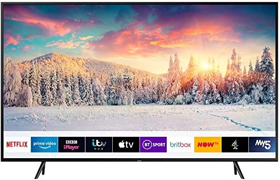 Samsung QE65Q60RATXXU 65″ 4K Ultra HD HDR Smart QLED TV with Ambient Mode – QE65Q60RATXXU