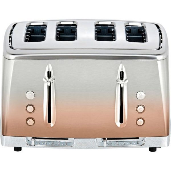 Russell Hobbs Eclipse 2400W 4 Slice Toaster – Copper Sunset – 25143