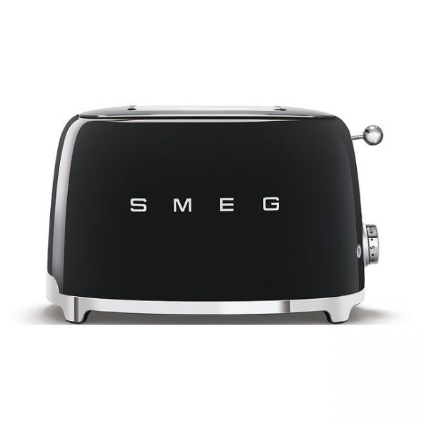 Smeg 50's Retro Style 2 Slice Toaster Black – TSF01BLUK