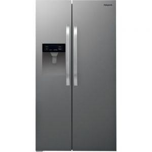 Hotpoint American Fridge st/steel ice + water - SXBHE924WDUK