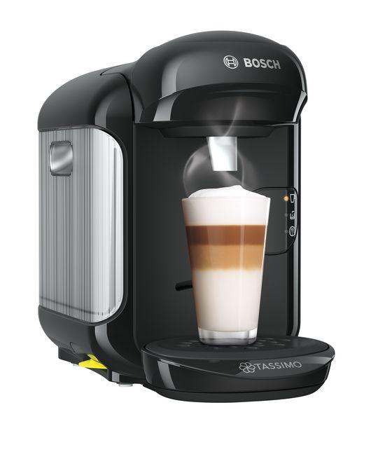 Bosch Tassimo Vivy 2 0.7L Pod Coffee Machine - Black | TAS1402GB