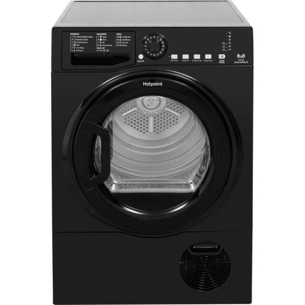 Hotpoint 8kg Condenser Dryer – Black – TCFS83BGK9