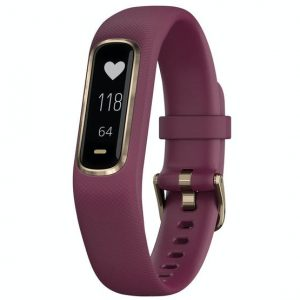 Garmin Vivosmart 4 Smart Watch – Rose Gold & Berry | 010-01995-01