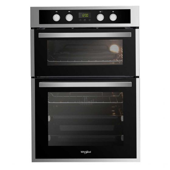 Whirlpool Built-in Double Oven Stainless Steel AKL309IX