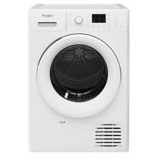 Whirlpool condenser tumble dryer: freestanding, 8kg – FT CM10 8B UK