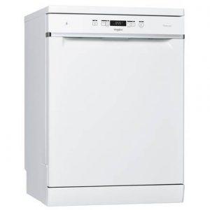Whirlpool 60cm Freestanding Standard Dishwasher – White WFC3B19UK