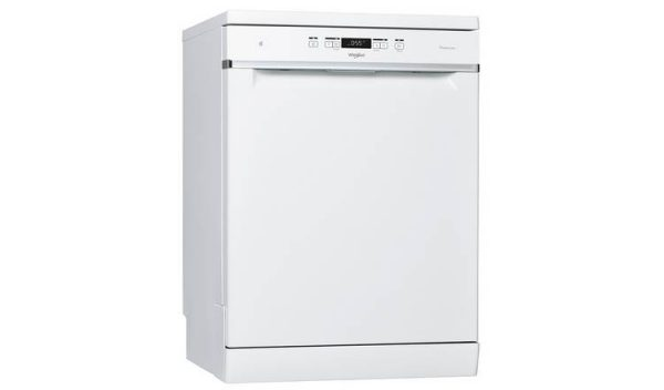 Whirlpool 60cm Freestanding Standard Dishwasher – White WFC3B19UK