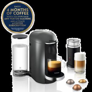 Krups Nespresso Vertuo Plus with Aeroccino | XN902T40