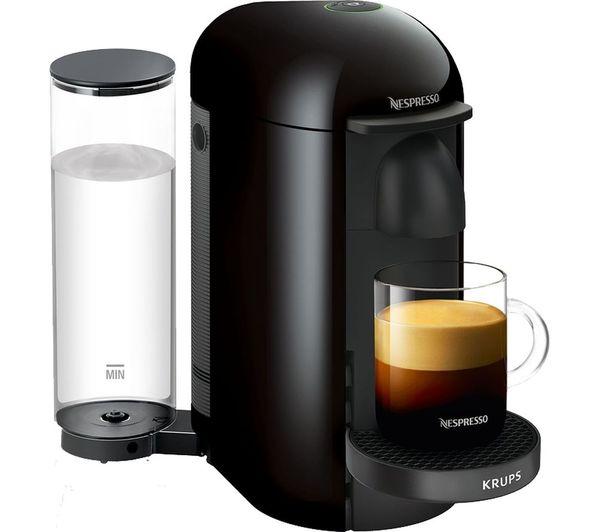 Krups Nespresso Vertuo Plus XN903840 Coffee Machine - Black