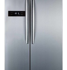 Belling BAFF526SS Stainless Steel American Style Fridge Freezer