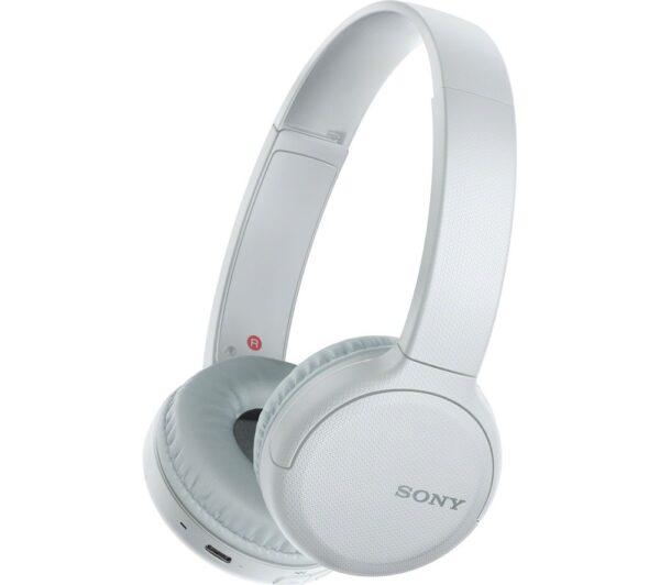 Sony Bluetooth Wireless Headphones – White – WHCH510WCE7