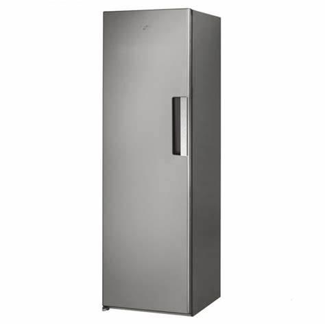 Whirlpool Upright Tall Freezer 260L No Frost - Stainless Steel - UW8F2CXLSB