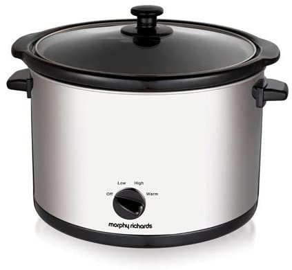 Morphy Richards Large slow cooker 5.5Ltr 461006