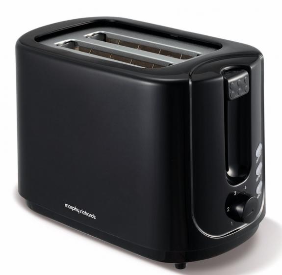Morphy Richards Essential Black 2 Slice Toaster | 980506