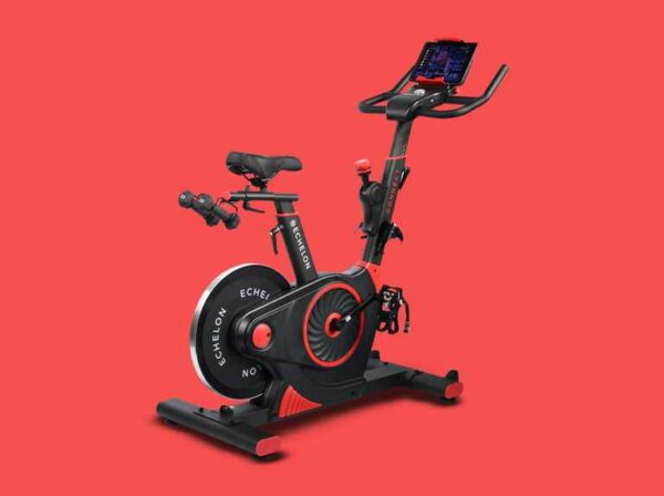 Echelon EX3 Connect Fitness Bike - Red | EX3-RED