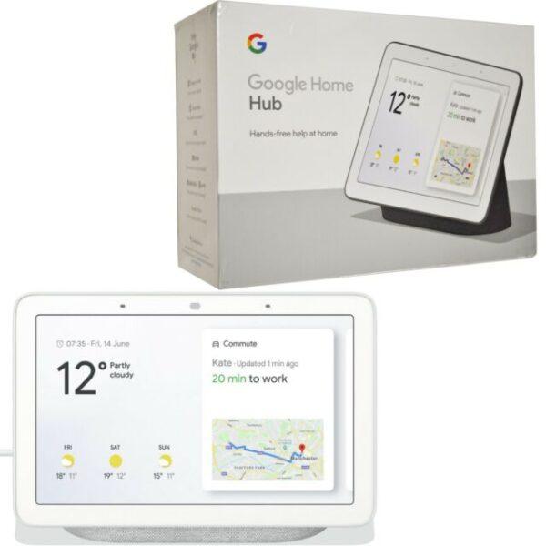 Google Nest Hub Smart Display | Chalk | GA00516-GB