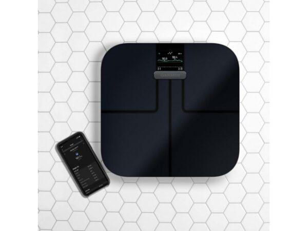 Smart scale Garmin Index Smart Scales S2 49-GAR-010-02294-12 Black