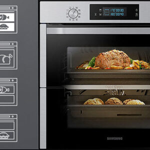 SAMSUNG Dual Cook Flex NV75N5671RS Electric Oven – Stainless Steel