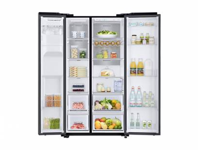 Samsung American Fridge Freezer Black Steel RS68N8230B1/EU