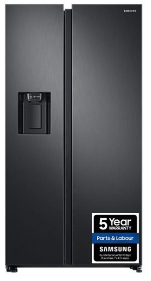 Samsung American Fridge Freezer Black steel | RS68N8230B1/EU