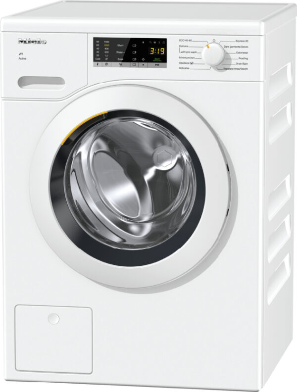Miele 7KG WCS Active W1 White Washing Machine | WCA020