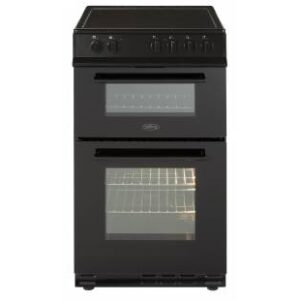 Belling 50cm Ceramic D/Oven Cooker – Black – FS50EDOFCBLK