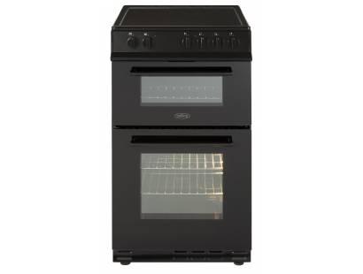 Belling FS50EDOFCBLK 50cm Ceramic D/Oven Cooker Black