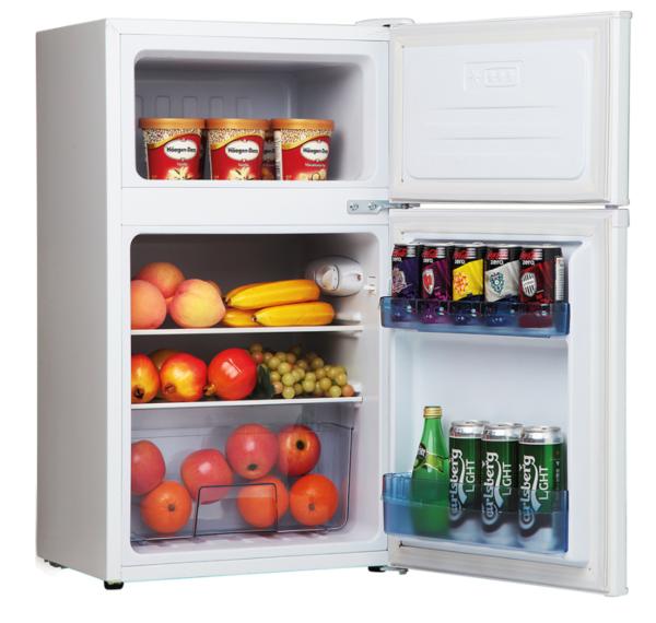 Amica FD1714 71 Litre Freestanding Fridge Freezer 20/80 Split A+ Energy Rating 48cm Wide – White FD1714