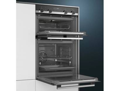 Siemens iQ500 Built-in Pyrolytic Double Electric Oven | MB578G5S6B