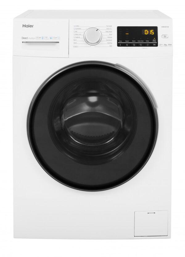 Haier HW80-B1439 8Kg Washing Machine with 1400 rpm – White [Energy Class A+++]