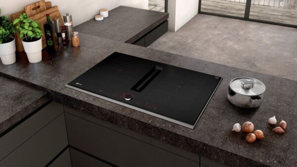 Neff 80cm Induction Hob with Integrated Ventilation System - T58TL6EN2