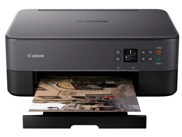 Canon Pixma All-in-One Wireless Inkjet Printer – Black | TS5350