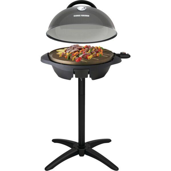 George Foreman Indoor/Outdoor Black Grill – 22460