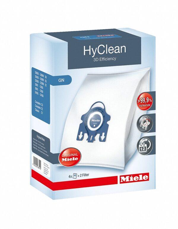 Miele Vacuum Bags GN Hyclean - 4 Pack