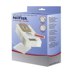 Nilfisk Power and Select Original Dust Bags – 200849