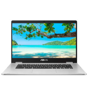 "Asus Chromebook 15.6"" FHD 4GB/64GB Laptop - Silver - C523NA-A20057"