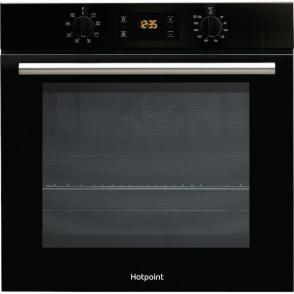 Hotpoint Class 2 Built In Single Oven – Black – SA2540HBL