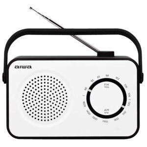AIWA Portable Radio AM/FM Mains & Battery R-190BW