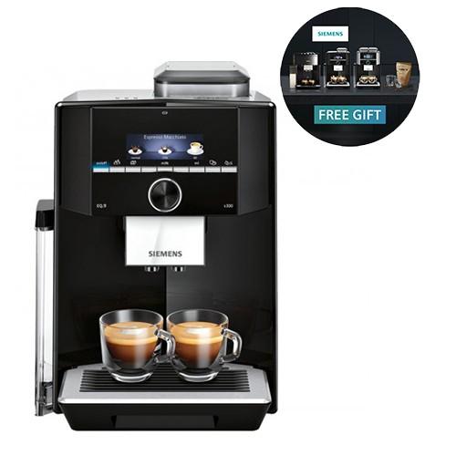 Siemens Fully Automatic Coffee Machine EQ.9 S300 Black - TI923309RW