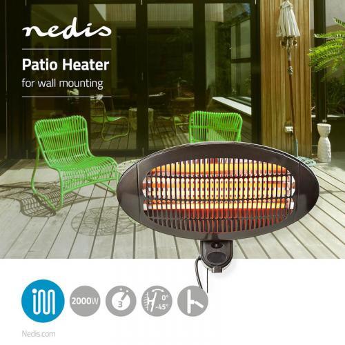Nedis Patio Heater 2000 W - 326839