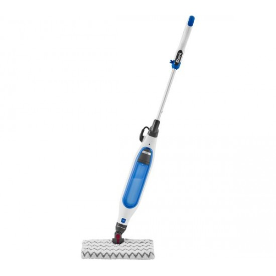 Shark Klik and Flip Manual Steam Pocket Mop White & Blue - S6001UK