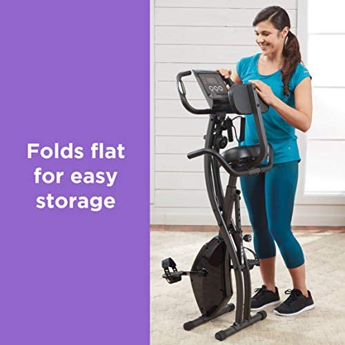 High Street Slim Cycle 2-in-1 Stationary Exercise Bike – 01269