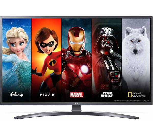 LG 65UN74006LB 65″ Smart 4K Ultra HD HDR LED TV with Google Assistant & Amazon Alexa