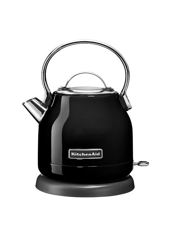 KitchenAid 1.25L Dome Style Kettle - 5KEK1222BOB - Onyx