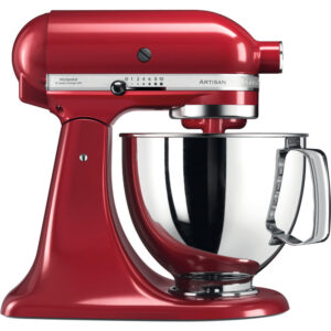 KitchenAid 4.8L Artisian Tilt-Head Stand Mixer - 5KSM125BER - Empire Red