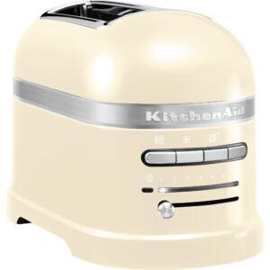 KitchenAid Artisan 2 Slice Toaster - 5KMT2204BAC - Almond Cream