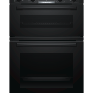BOSCH Serie 4 MBS533BB0B Electric Double Oven – Black