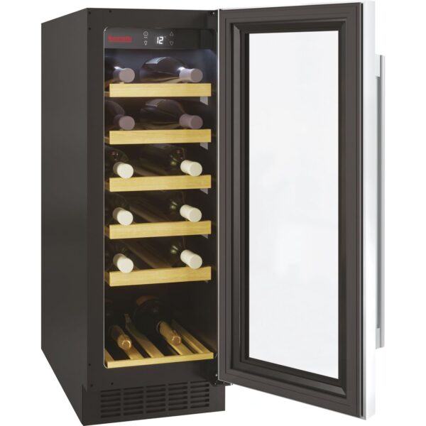 Baumatic 30cm Wine Cooler Black / Stainless Steel – BWC305SS/2