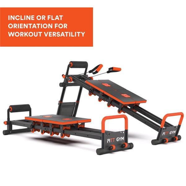 FITT Gym – Multi Trainer Space Saving Home Gym – 1382