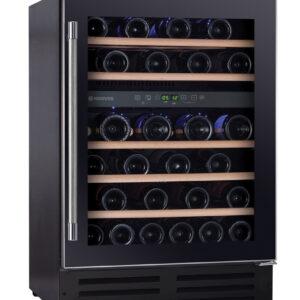 Hoover H-WINE 700 HWCB60UK/N Wine Cooler 60cm-Black/Steel